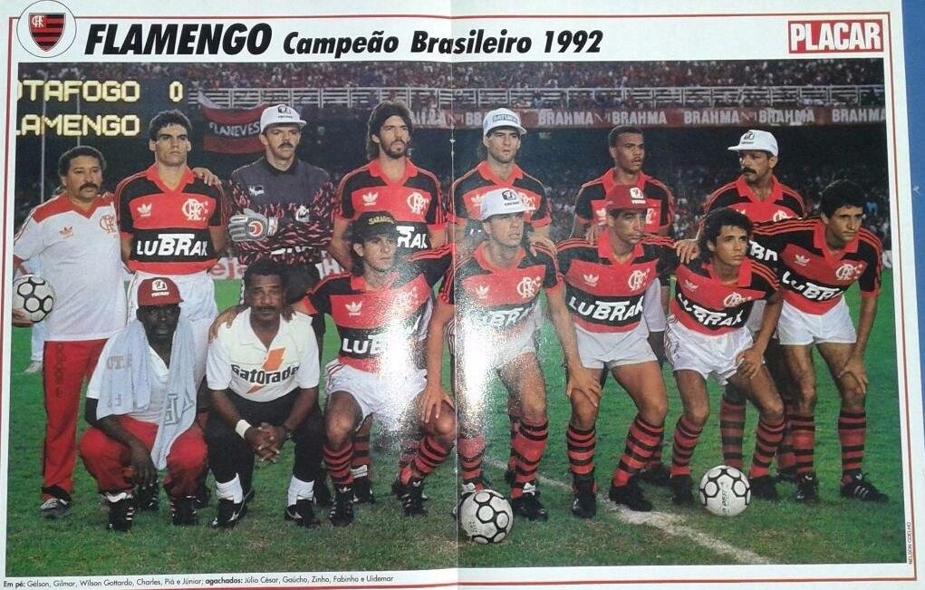 flamengo campeão brasileiro de 1992. Carregando zoom. 7a06d89263a64