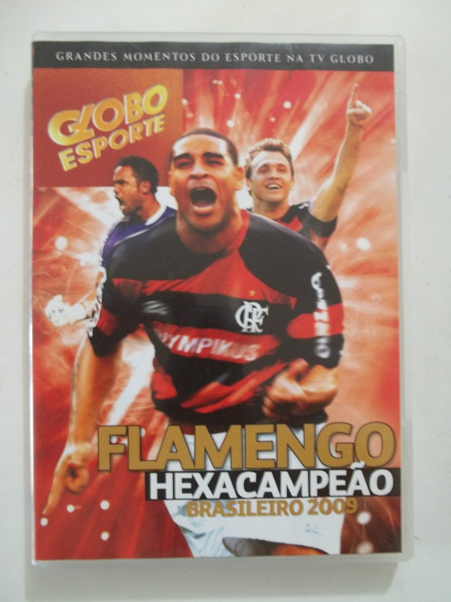 dvd do flamengo hexacampeao