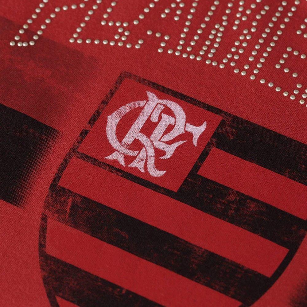 4fd6413451 Camisa Flamengo Feminina Oficial Baby Look Blusinha Rubby - R  59