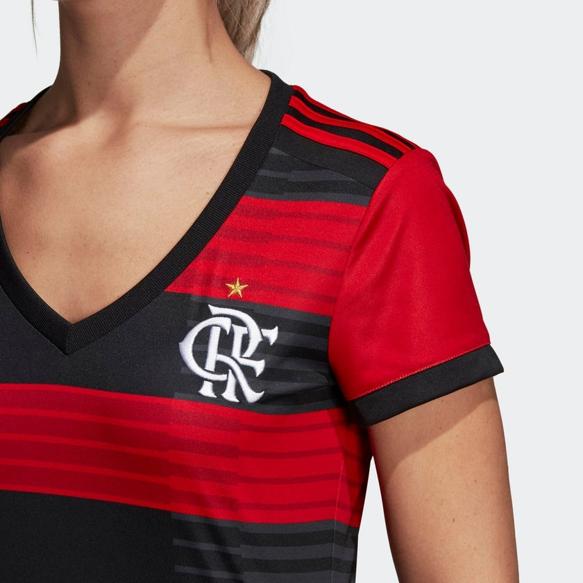 1d829008de Camisa Cr Flamengo 1 Feminina adidas Cf9017 Original - R  249
