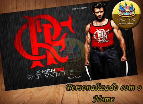 flamengo papel arroz a4 time com nome