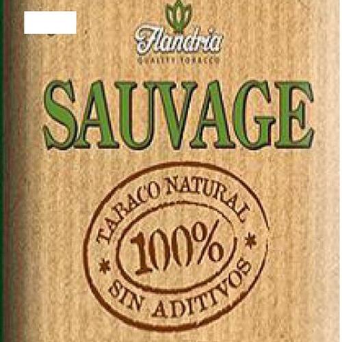 flandria sauvage tabaco organico sin aditivos pack x5 armar