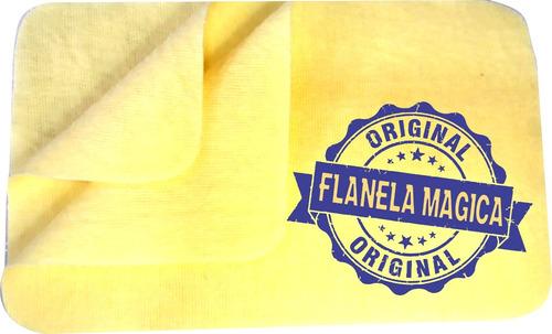 flanela mágica 5 c/12 limpa joias pano magico fm limpeza