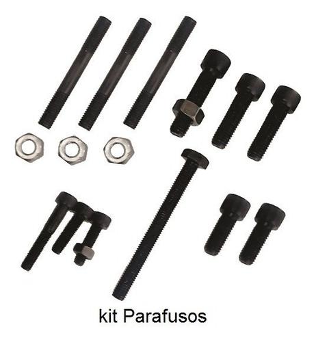 flange motor ap em aço para triciclo - adap brasil