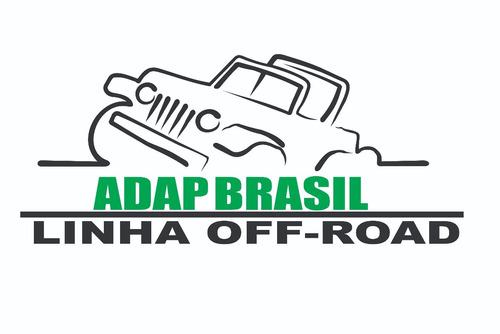 flange motor ap x câmbio do fusca - adap brasil