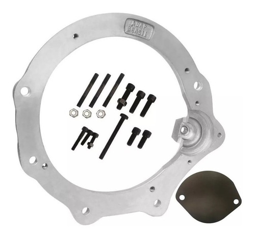 flange motor up tsi 1.0 x câmbio do fusca - adap brasil