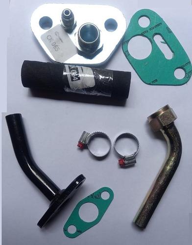 flange retorno oleo e lubrificação turbina d10 e d20 q20b