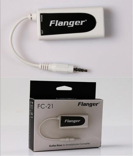 flanger conversor de guitarra/baixo para android iphone ipad