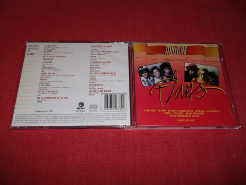 flans - historia musical cd melody ed 1991 mdisk