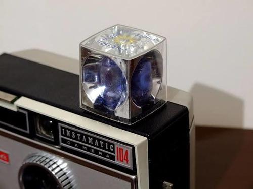 flash antigo flash cubo osram