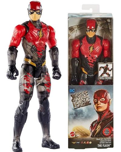 flash articulado dc justice league mattel fpb53 30cm