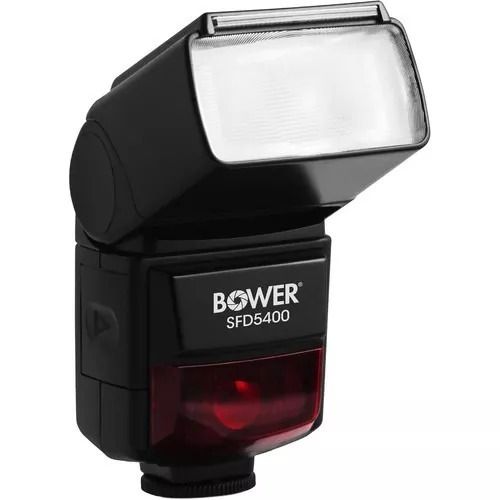 flash bower digital autofocus dslr flash para nikon o cannon