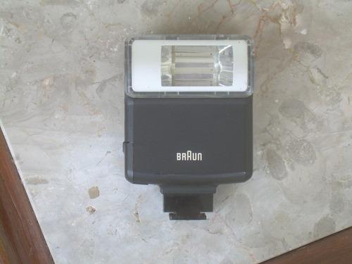 flash braun, bh 17b,original germany,usado 100% funcionante