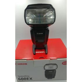 Flash Canon 600ex Estado De Zero Usado Só 3 X Com Garantia