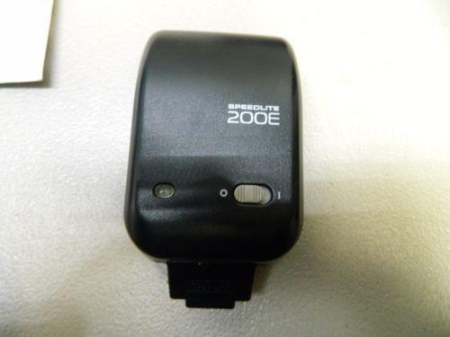flash canon speedlite 200e
