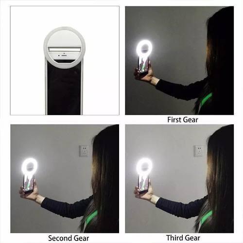 5d8bd996f0a luz de selfie ring light anel led flash celular tablet tele · flash celular  tele