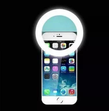 0edf1002185 Luz De Selfie Ring Light Anel Led Flash Celular Tablet Tele - R$ 16,17 em  Mercado Livre
