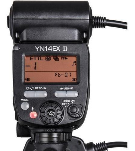 flash circular macro yongnuo yn-14ex ii - canon