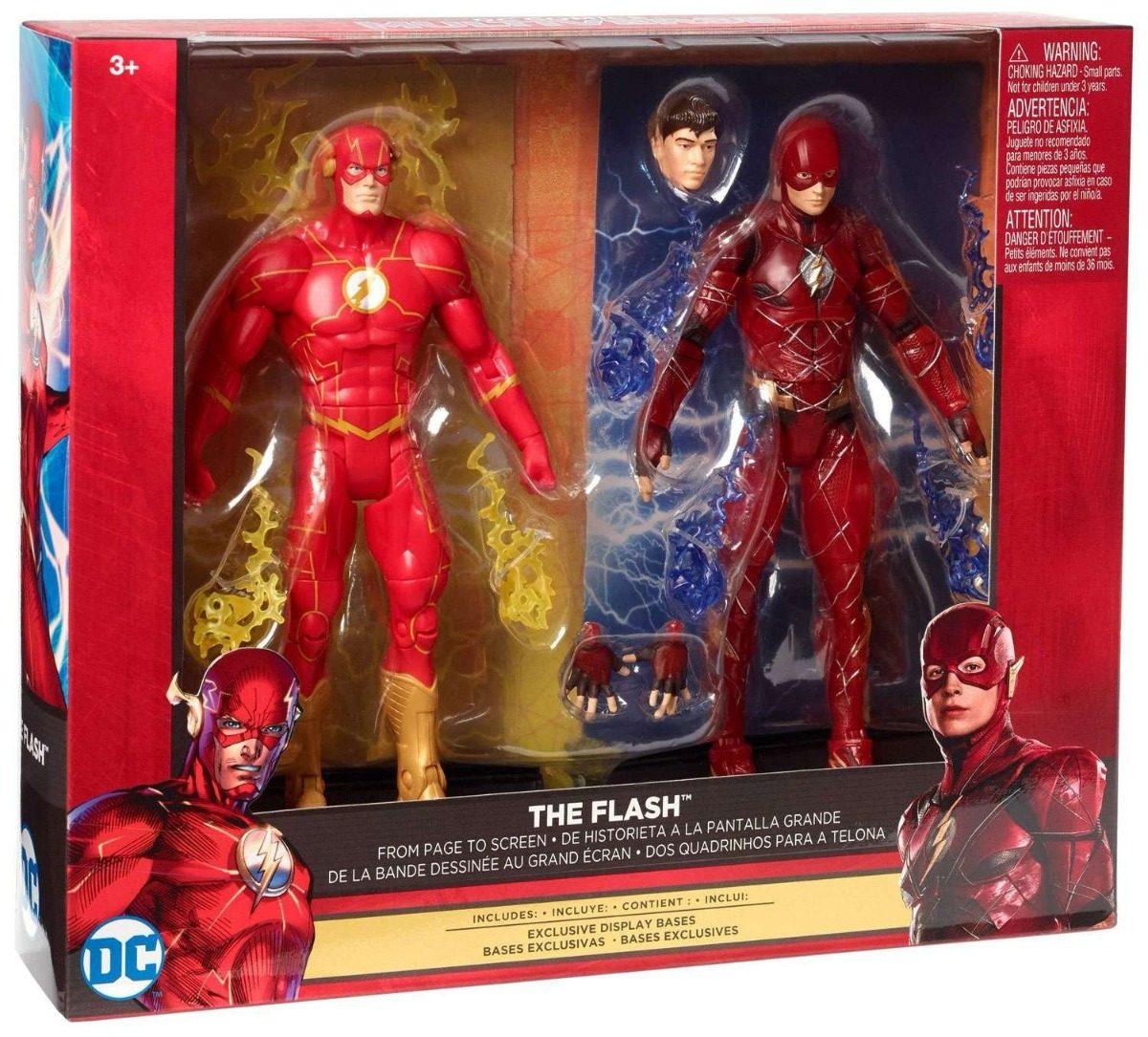 Resultado de imagen para DC Comics Multiverse FLASH Action Figure SET OF 2