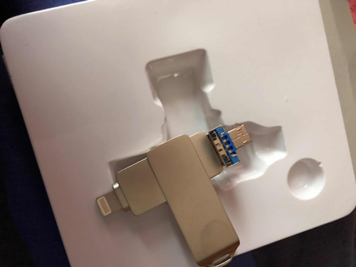 flash drive  3en 1 para android iphone y pc de 16gb