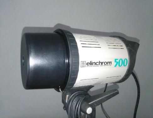 flash elinchrom 500