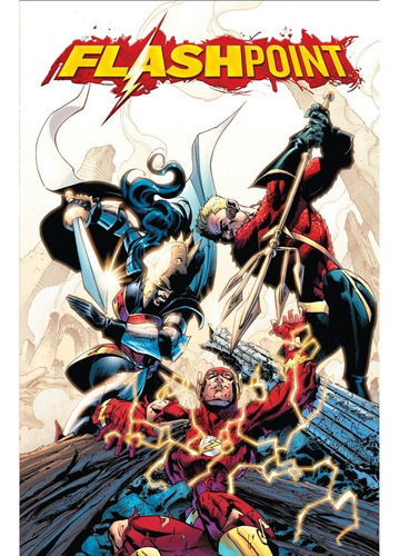 flash flashpoint xp vol. 03 - dc ecc comics - robot negro