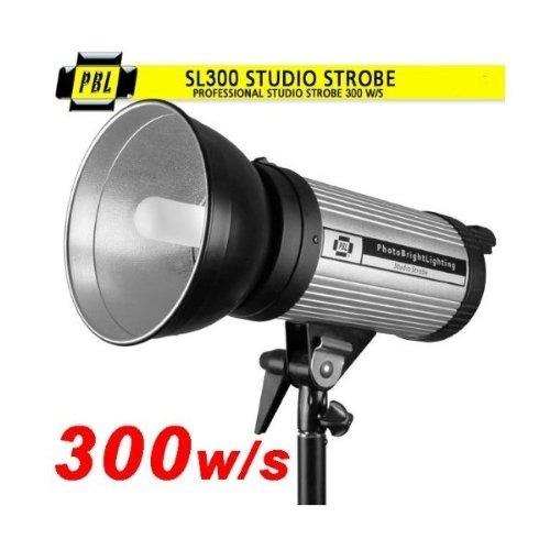 flash fotográfico pbl sl300 profesional estudio 300w