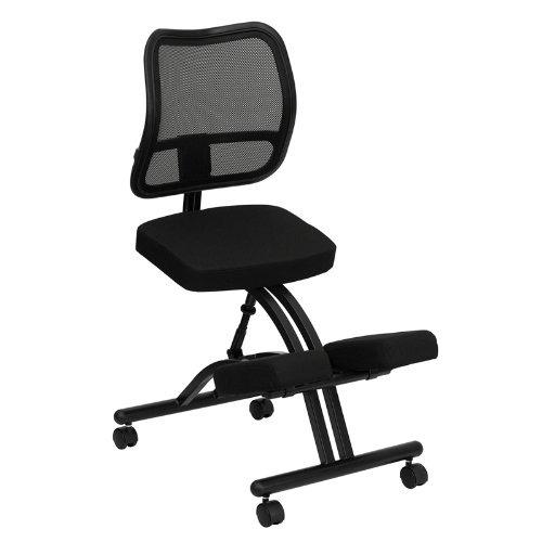 Flash Furniture Mobile Silla De Rodillas Ergon 243 Mica Con