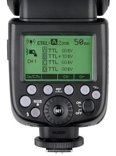 flash godox v860 ll para canon c/ bateria