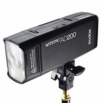 flash godox witstro ad200 200watts portatil doble función
