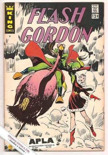 flash gordon nº 8 - primeira edição ( hq, gibis)