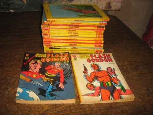 flash gordon nºs 1 ao 16 ano:1971 editora saber /paladino