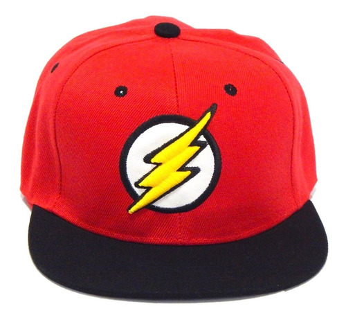 flash gorra bordada 3d rayo broche ajustable snapback