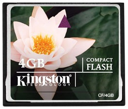 flash kingston memoria compact
