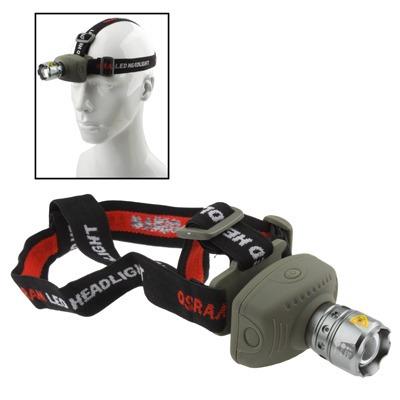 flash lampara cabeza linterna led faro zumbido 3-mode para