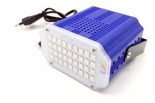 flash led 10w audioritmico rgb