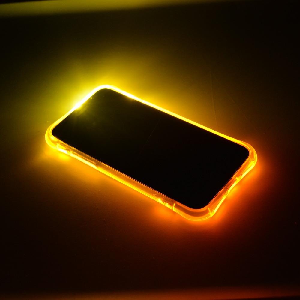 c12962ee758 Flash Led Bumper Case Funda iPhone 7 8 Plus Colores Luz - $ 199.00 en  Mercado Libre