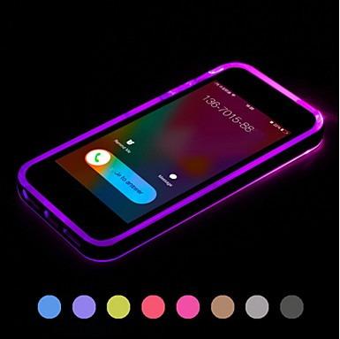 flash led bumper case iphone 6 y 6s varios colores