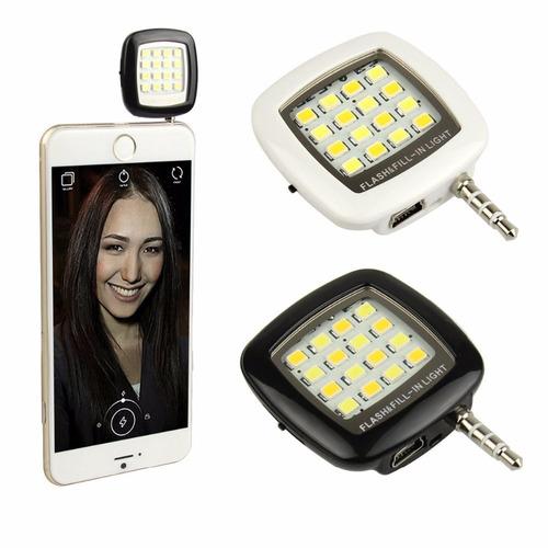 flash light luz blanca selfie para celulares