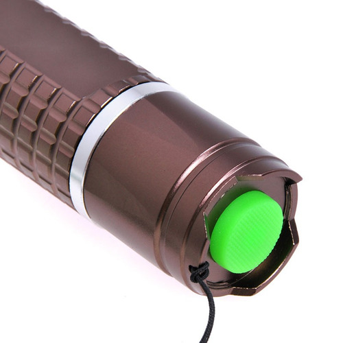 flash linterna led cree xm-l t6 800lm 5-mode blanco cafe