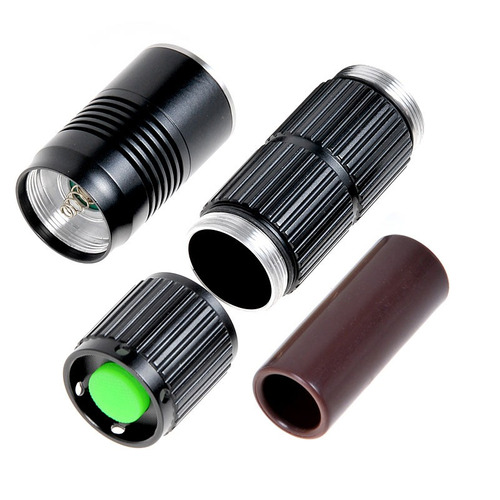flash linterna led kx-m3 cree xm-l u2 800lm 5-mode negro