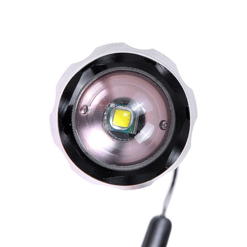 flash linterna led kx-w cree xm-l lm luz blanca -mode negro