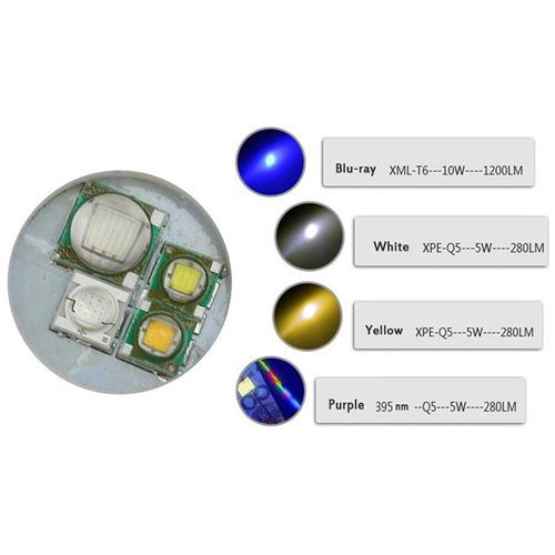 flash linterna led lt-bh lm cree xm-l xpe blanco amarillo