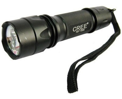 flash linterna led sacredfire nf-028 cree xr-c 200 lumene