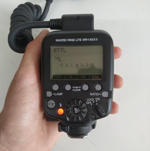 flash macro circular canon original mr-14ex ii dentista usad