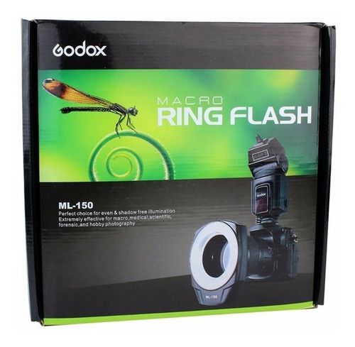 flash macro ring circular godox greika ml-150 canon nikon