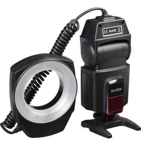 flash macro ring godox ml150  para nikon