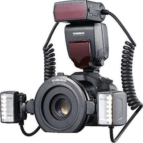 flash macro twin  youngnuo yn-24ex ttl  para câmera canon