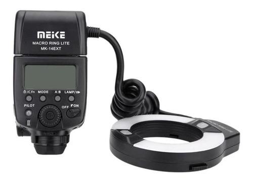 flash meike circular mk-14ext macro ring lite para canon