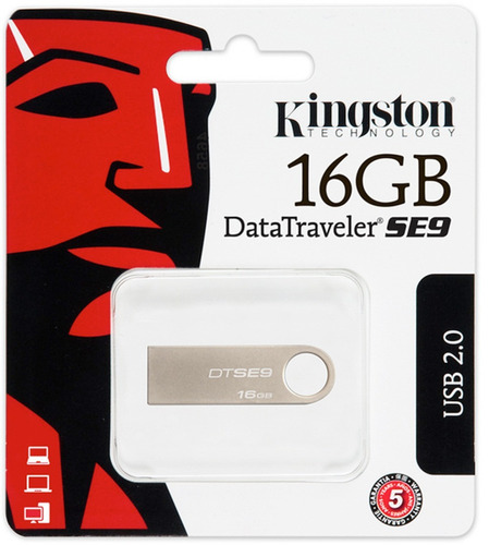 flash memory kingston 16gb 100% nueva, original !!